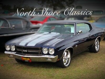 Chevelle -LS5 BIG BLOCK 4 SPEED-PRO TOURING-SHOW QUALITY-12 Cobalt Blue Candy Chevrolet Chevelle with 4,500 Miles available now!
