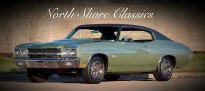 Chevelle FRAME OFF RESTO- SUPER SPORT- 396/350 HP-SEE VIDEO Green Chevrolet Chevelle with 4,419 Miles available now!