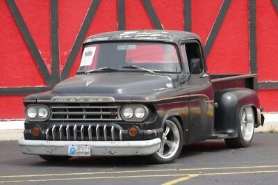 Other Pickups 100-PATINA-PRO TOURING RARE-FUEL INJECTED-LATE MOD 1960 Dodge Pickup for sale!
