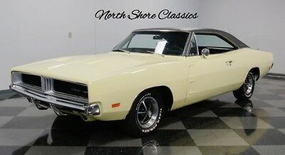 Charger -NUMBERS MATCHING 383-FACTORY CORRECT SUN FIRE YEL 1969 Dodge Charger, Sunfire Yellow with 106,493 Miles available now!