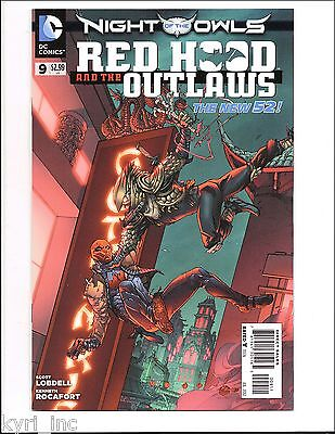 RED HOOD and the OUTLAWS #9 NEW 52 BATMAN NIGHT OF THE OWLS JASON TODD X7