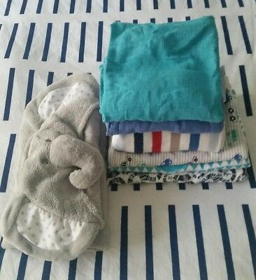 baby wraps and blankets