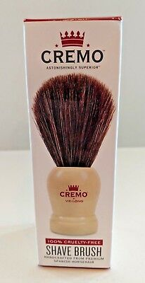 Cremo Shave Brush, Handcrafted from Premium Spanish Horsehair