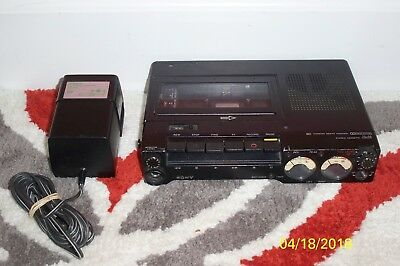Sony TC-D5 Field Portable Stereo Cassette-Corder Needs Work