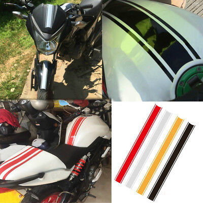 Motorcycle DIY Tank Fairing Cowl Vinyl Stripe Pinstripe Racing Decal Sticker