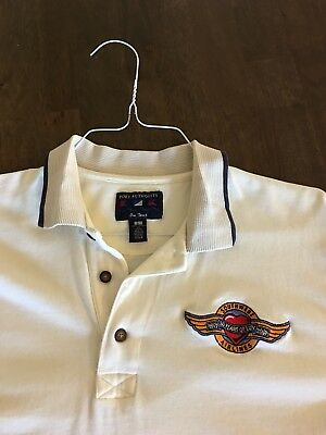 Vintage Southwest Airlines SWA Mens Polo Shirt Large