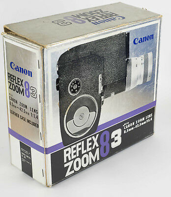 Canon Reflex Zoom 8-3 clockwork 8mm movie camera