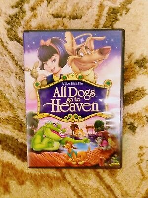 All Dogs Go To Heaven Blu Ray 2010 New Sealed Cartoon Movie Don