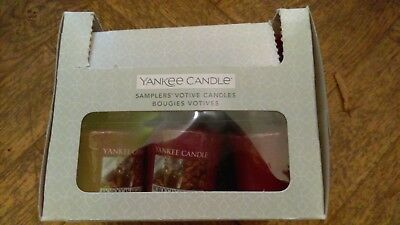 Yankee Candle Brand new BOX 18x Votive Sampler Candles (MOROCCAN ARGAN OIL)