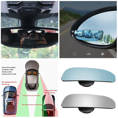 2pcs HD Auto Car Adjustable Side Rearview Blind Spot Rear View Auxiliary Mirror
