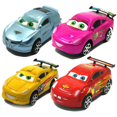 Cartoon Plastic Pull Back Cars Fashion Racing Car Model Kids Gift Toys for Boys-