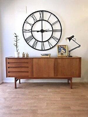 Vintage Retro Immaculate Large Teak Sideboard by Bernhard Pedersen & Sons