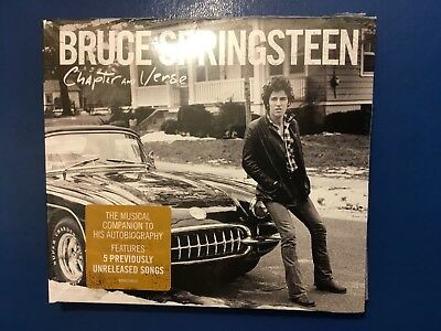 Bruce   Springsteen.       Chapter And Verse.      Compact Disc