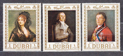 South Arabia Este (Dubai) - Mail Yvert 95 Mnh Paintings