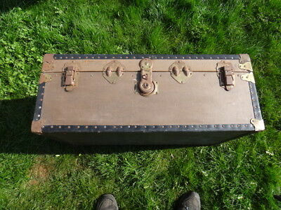 Old School/cruising/touring Luggage Trunk