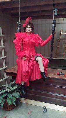 Mannequin with clothes Lifesize Western Style Manikin will sit or stand lifelike