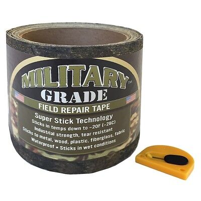 Military Grade™  High Strength Repair Patch Seal Water Proof Super Stick Tape