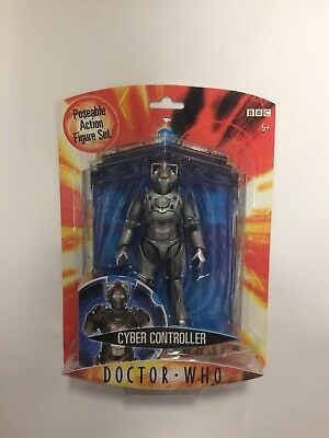 DOCTOR WHO Cyber Contoller Poseable Action Figure Set SEALED ORIGINAL New 2006