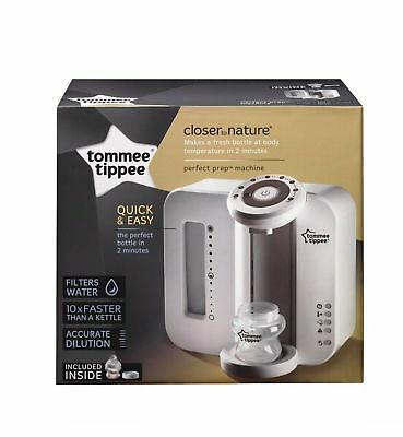 Tommee Tippee Closer to Nature Perfect Prep Machine - white Quick and amp;