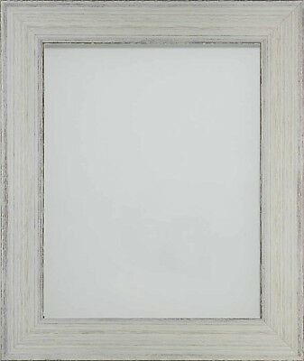 Frame Company Kingswood Range Black Grey White Rustic Wooden Picture Photo Frame