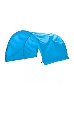 Ikea Kura Kids Bed Tent / Canopy Blue