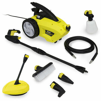 Electric Pressure Washer 1500psi Water Power Jet High Power with Patio Cleaner