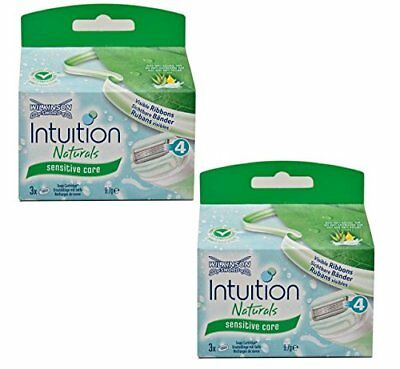 2x Wilkinson Sword Intuition Sensitive Care Rasierklingen Aloe+ProVitamin B5 OVP