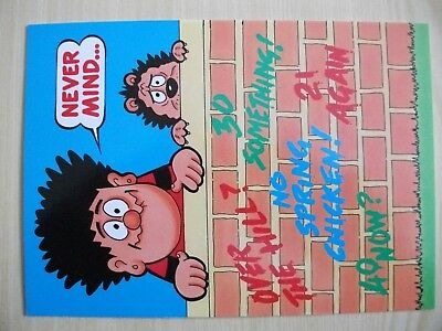 dennis the menace birthday card (never mind)
