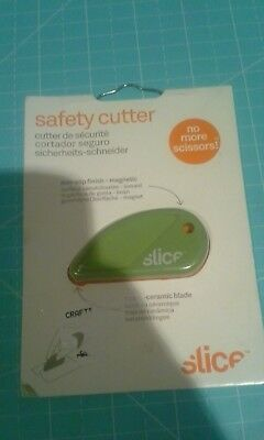 Slice Safety cutter- Micro - Ceramic cutting blade - new worn package