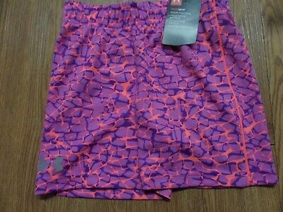 bnwt girls under armour shorts size 4 purple&pink