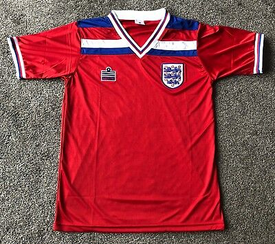 England 1982-1983 Admiral Away Shirt Replica
