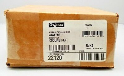 New Hoffman A4Axfn2 Cooling Fan Sealed