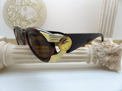 Genuine Rare Vintage Gianni Versace Sunglasses Mod. 423 Col. 900 New Old Stock