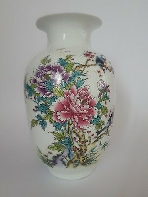 Outstanding Large Chinese Famille Rose Republic Period Vase