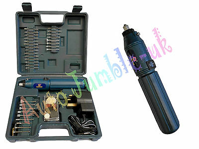 60Pc Mini Grinder Drill Set CRAFT Model polish Jewellery Hobby precision grind