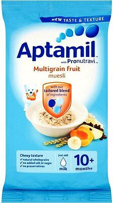 Aptamil with Pronutravi + Multigrain Fruit Muesli 10mth+ (2x275g)