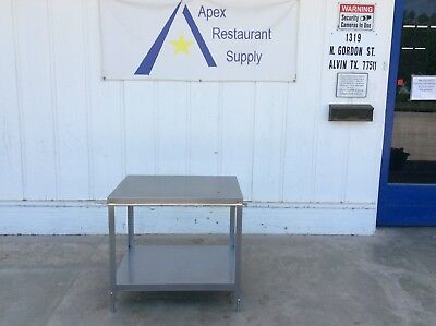 ALL STAINLESS Berkel  32 x 24 Equipment Stand Commercial #3074