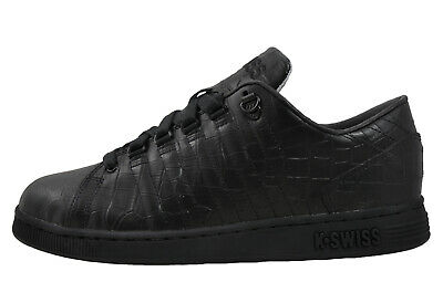K Swiss Lozan III Tongue Twister Mens Classic Casual Retro Trainers Black