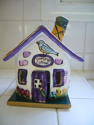 Blue Sky Clayworks Heather Goldminc Grandma's Cottage Excellent Condition