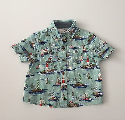 Monsoon Summer Shirt Size 6-12 Months