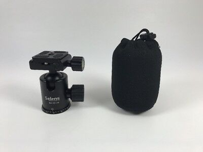 Selens BH-30-2K Dual Action Tripod Ball Head Quick Release With 360° Panning