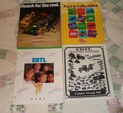 Ertl Toy Catalogs and Collector's Handbook