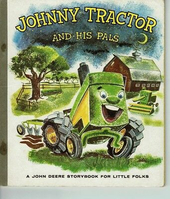 "Vintage John Deere ""Johnny Tractor and His Pals"" Children's Book  -- used"