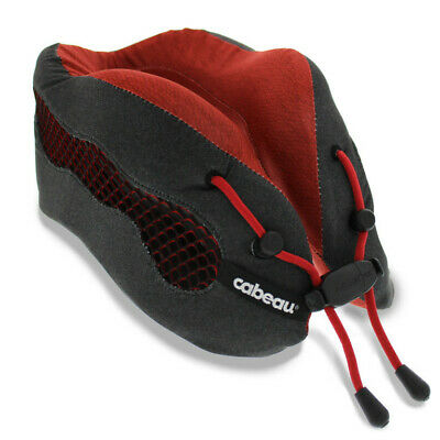 Cabeau Evolution COOL 2.0 Memory Foam Travel Pillow - RED- BRAND NEW!