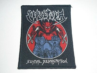 Sepultura Bestial Devastation Woven Patch