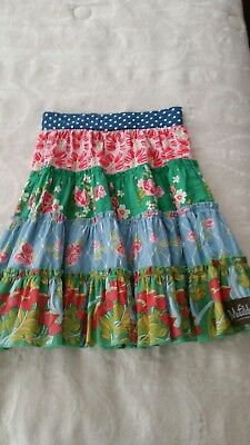 Matilda Jane Good Hart Main Street Tiered Gentry Floral Skirt Floral Size 2