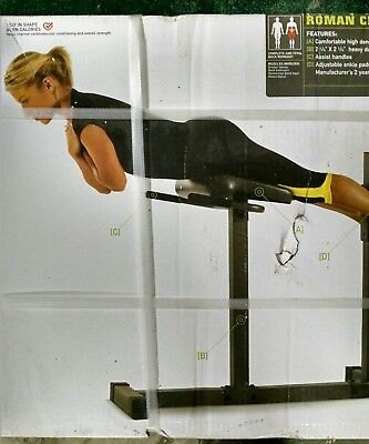 Marcy Roman Chair/Hyperextension Bench Core Workout & MARCY ROMAN CHAIR/HYPEREXTENSION Bench - $105.21 | PicClick