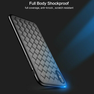 For iphone 8 7 6 6s Plus Weavy Case Slim Thin Soft Gel TPU Cover