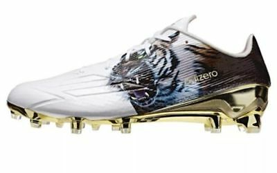 NEW adidas Adizero 5-Star 5.0 Uncaged Football Cleats Size 12 White Gold Tiger
