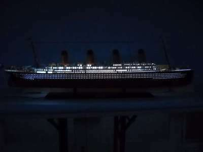 """Limited Handcrafted Model Ship 50"""" Lighted High Museum Quality Amazing Detail"""